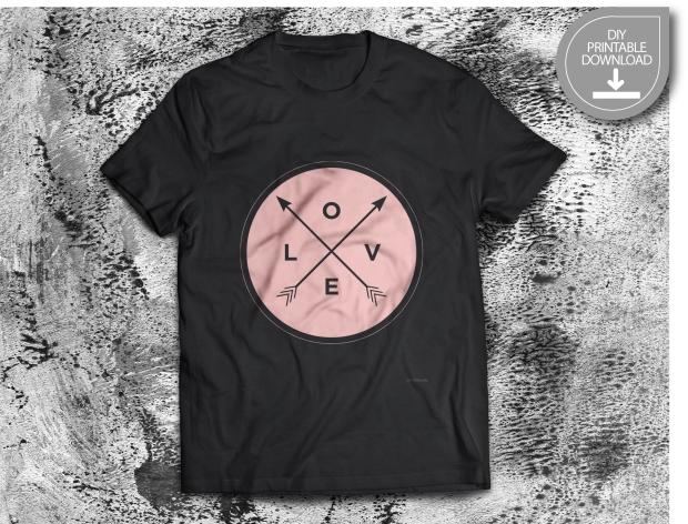 LOVE T-Shirt icon